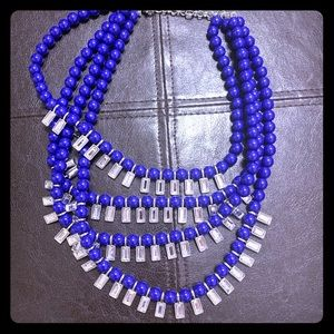 2/$15 Banana Republic 4layer statement necklace